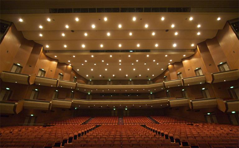 東京エレクトロンホール宮城のホールの写真