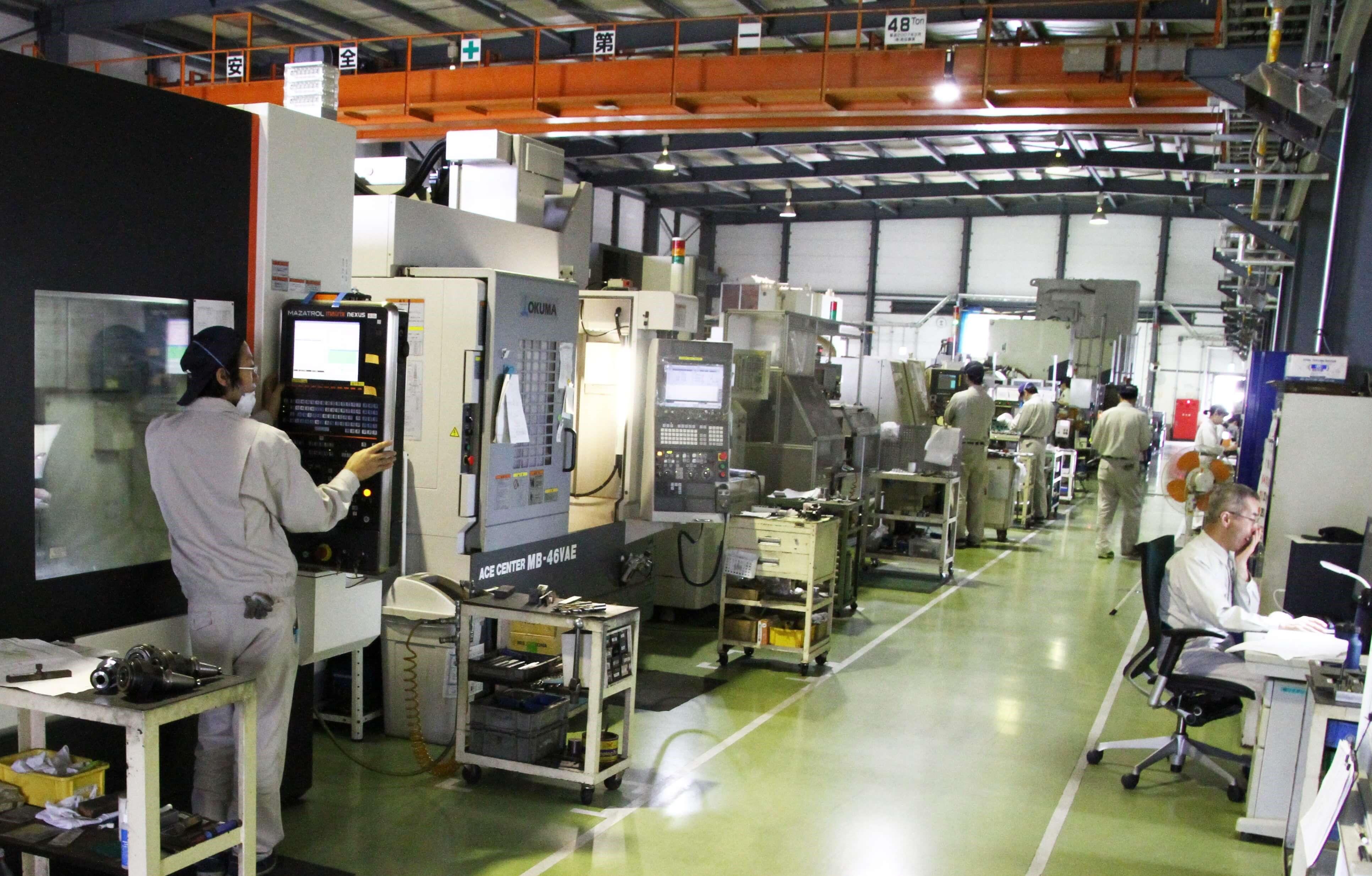 株式会社ウチダ工場風景